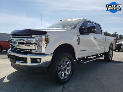 Pre-Owned 2019 Ford F-250SD Lariat 4WD 4D Crew Cab