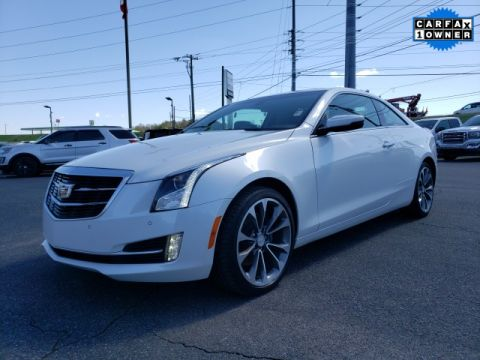 Pre-Owned 2016 Cadillac ATS 2.0L Turbo Luxury AWD 2D Coupe