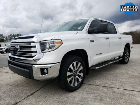 Pre-Owned 2019 Toyota Tundra Limited 4WD 4D CrewMax